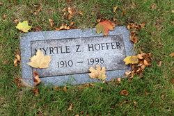 Myrtle Z Hoffer