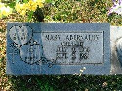 Mary Magdalene <I>Abernathy</I> Chenault