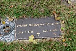 Yvonne <I>Robideau</I> Hofmann