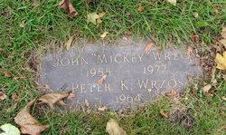 """John """"Mickey"""" Wrzos"""