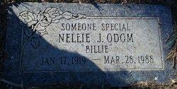 "Nellie J ""Billie"" <I>Jordan</I> Odom"