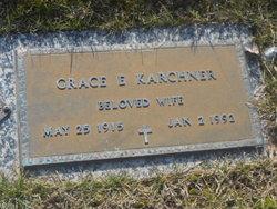 Grace E <I>Smith</I> Karchner