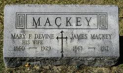 Mary F. <I>Devine</I> Mackey