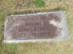 Charlotte Marie <I>DeArman</I> Brooks