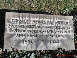 Grace <I>Denison</I> Arter