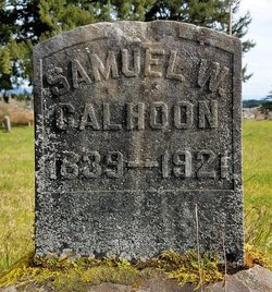Samuel W Calhoon