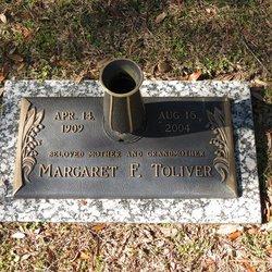 Margaret Floyd <I>Adams</I> Toliver