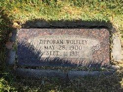 Zipporah <I>Welch</I> Wolfley