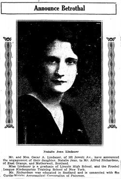 Natalie Jean <I>Lindauer</I> Richardson