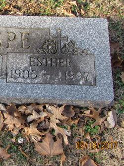 Esther M <I>Matheny</I> Knospe