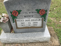Nicice Jane Grahams