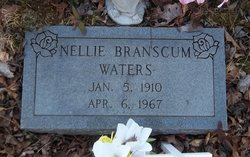 Nellie <I>Branscum</I> Waters
