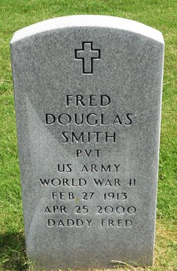 "PVT Fred Douglas ""Daddy Fred"" Smith"