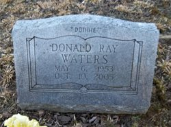 Donald Ray Waters