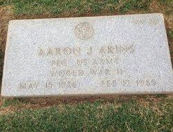 PFC Aaron J Akins
