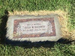 Zula Grace <I>Mortensen</I> Baldwin