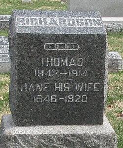 Jane <I>Beadle</I> Richardson