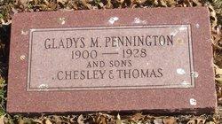 Gladys M Pennington