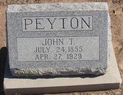 John T Peyton