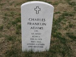 Charles Franklin Adams