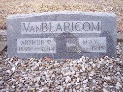 Julia May <I>McCracken</I> Van Blaricom