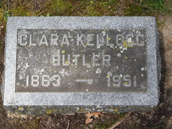 Clara Belle <I>Kellogg</I> Butler