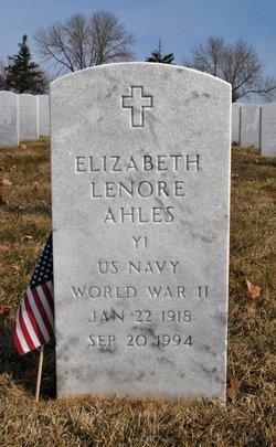 Elizabeth Lenore Ahles