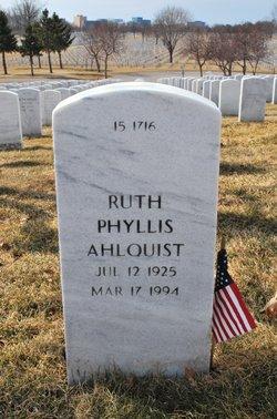 Ruth Phyllis Ahlquist