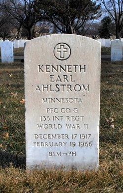 Kenneth Earl Ahlstrom