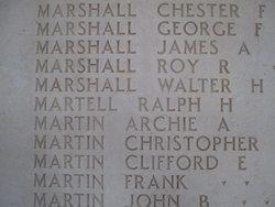 PVT Ralph Harold Martell