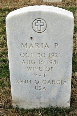Maria P Garcia