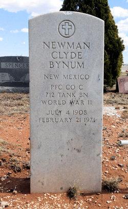 Newman Clyde Bynum