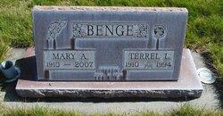 Mary A <I>Cartwright</I> Benge