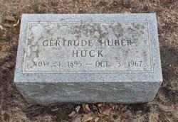 Gertrude M. <I>Huber</I> Huck