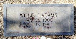 Willie Jasper Adams