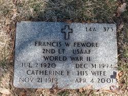 Francis W Fewore