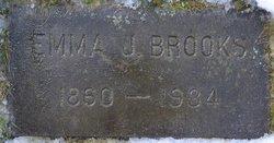 Emma J. <I>Hinchman</I> Brooks