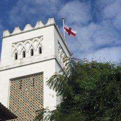 Tangier, Church of St Andrew's  Churchyard