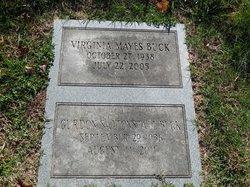 Virginia <I>Mayes</I> Buck