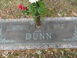 Alice <I>Peters</I> Dunn