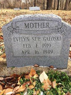 Evelyn Sue <I>Pate</I> Galoski