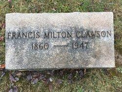 Francis Milton Clawson