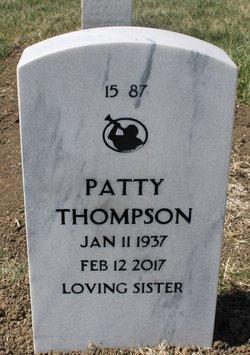 Patty Irene <I>Feagins</I> Thompson