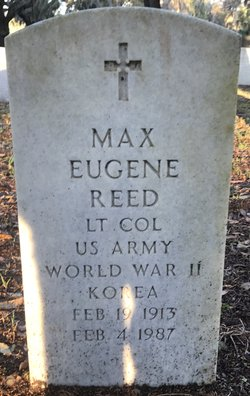 Max Eugene Reed