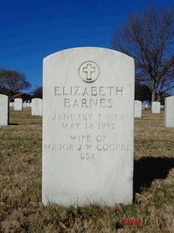 Elizabeth Ada <I>Barnes</I> Cooper