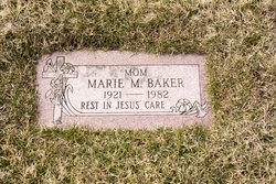 Marie M. <I>Zimmerman</I> Baker