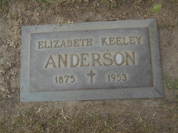Mary Elizabeth <I>Keeley</I> Anderson