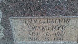 Emma <I>Dalton</I> Swanmeyer