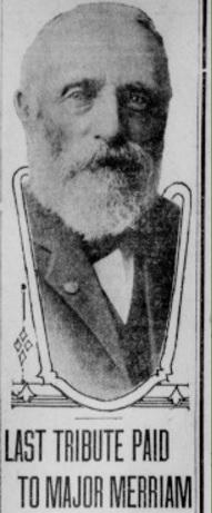 MAJ Gustavus French Merriam