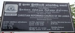 Christian Reformed Church of Sri Lanka